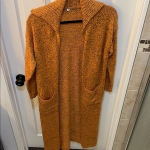 Sweaters - Duster Cardigan